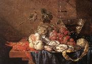 HEEM, Jan Davidsz. de Fruits and Pieces of Sea sg oil painting